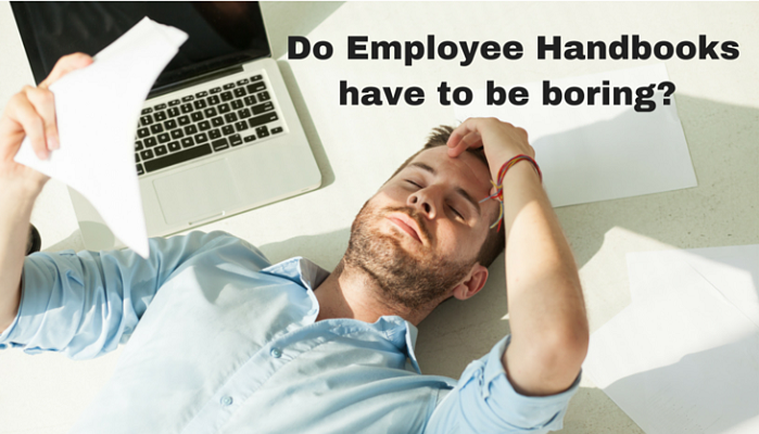 Traditional employee handbooks are boring